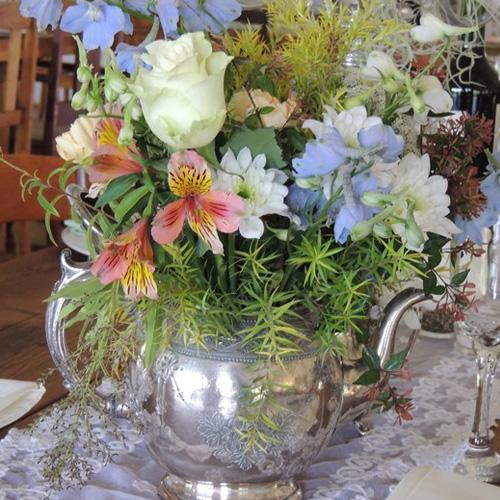 Silver Teapot Image