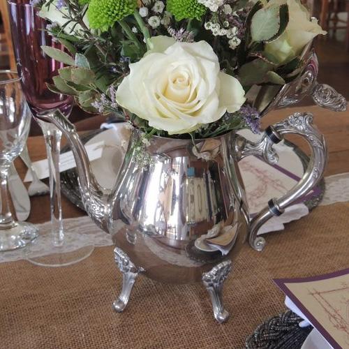 Silver Coffee Pot Image