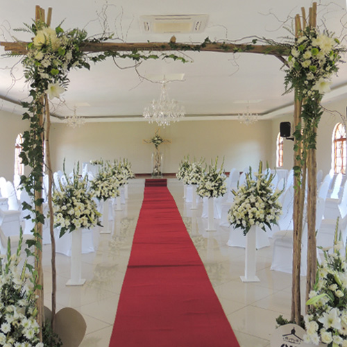 Rustic Wooden Arch Image